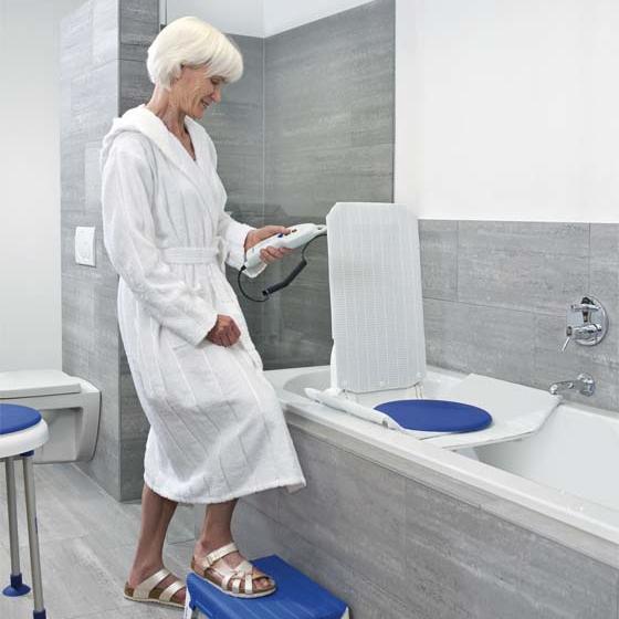Sanitaetshaus H&R Hilfsmittel Badewannenlifter