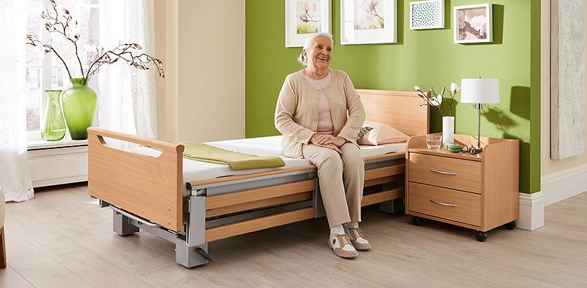 Sanitaetshaus H&R Hilfsmittel Pflegebett
